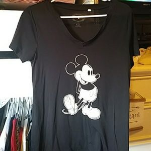 Women's Mickey Mouse Baby Tee